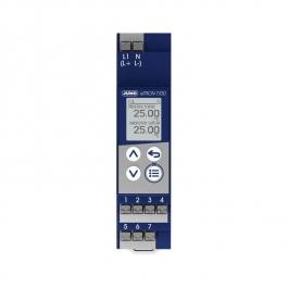 JUMO eTRON T100 - цифровой контроллер с переключающим реле на DIN-рейку