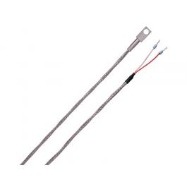 Контактный датчик температуры, стекловолоконный кабель