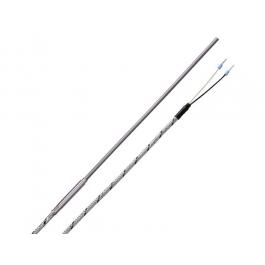 Термопара Тип J (Fe-CuNi), стекловолоконный кабель
