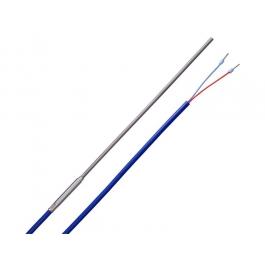 Термопара Тип L (Fe-CuNi), силиконовый кабель