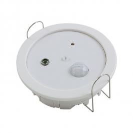 Датчик движения, освещенности и температуры для потолочного монтажа