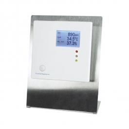 Мультисенсорный датчик для измерения CO2, влажности и температуры с настольной подставкой