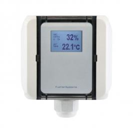 Канальный датчик качества воздуха для смешанных газов и температуры