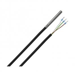 1-проводной датчик температуры с силиконовым кабелем