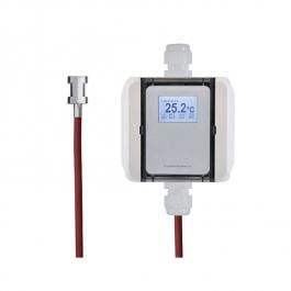 Накладной преобразователь температуры, кабельный