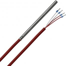 Погружной датчик температуры с силиконовым кабелем