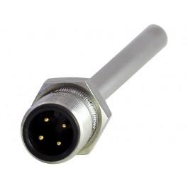 Погружной датчик температуры со штекерным разъемом, резьба M12
